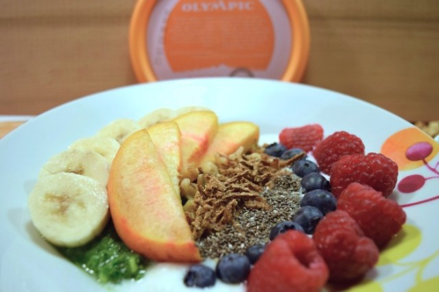 Olympic Breakfast Bowl Close Up
