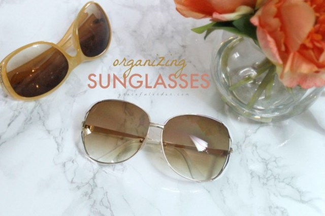 Organizing Sunglasses on Life, Love and the Pursuit of Play