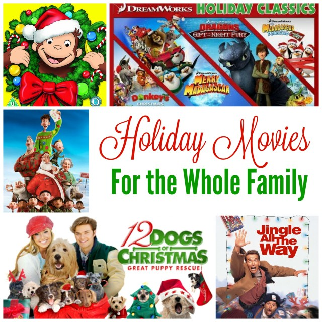 Top Holiday Movies for the Whole Family