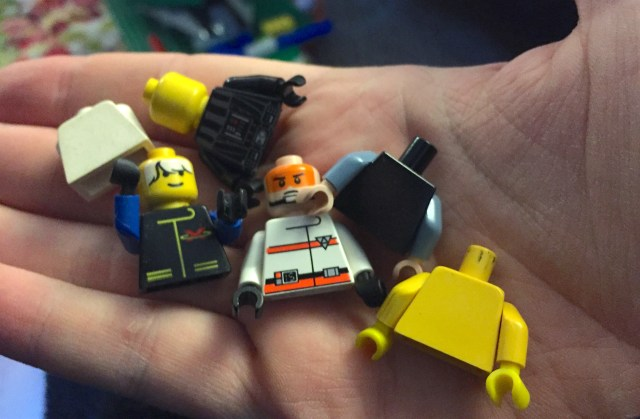 dismembered lego