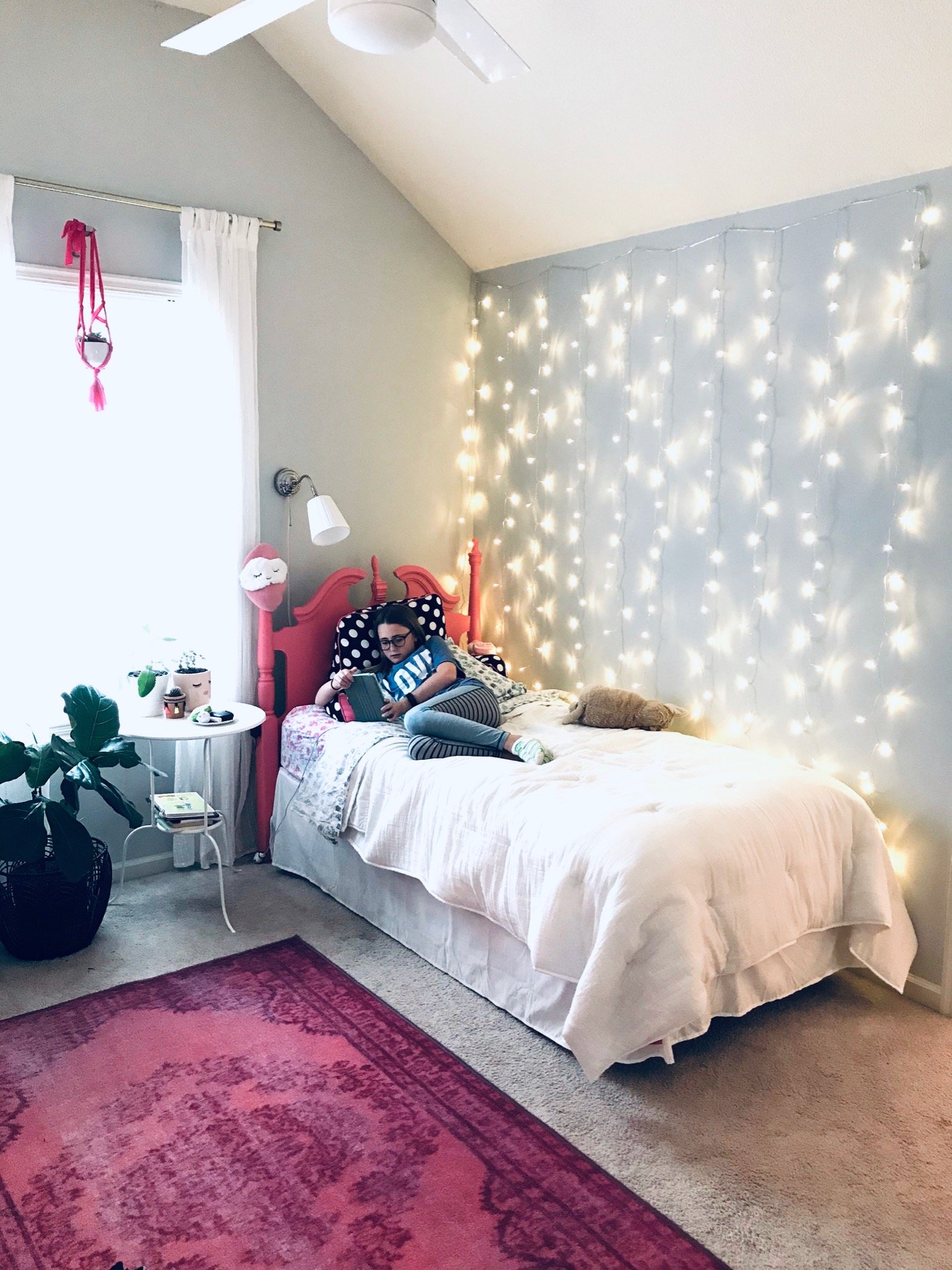 easily install curtain twinkle lights