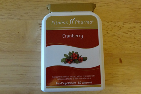Cranberry supplement