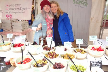 Olive Stall At Kendal Food Festival