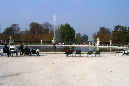 Jardin de Tuilleries, Paris