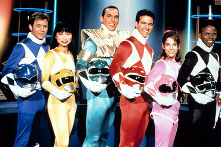 Power Rangers - Born In The 80s