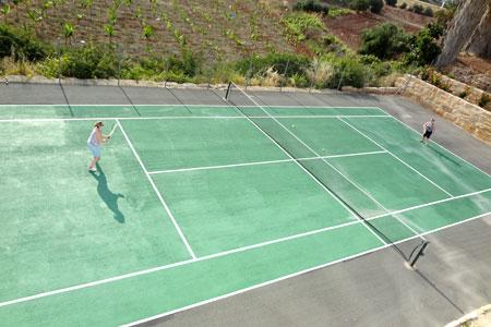 Tennis Court at Monte Mare