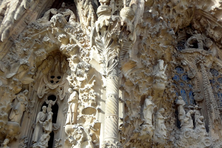 Sagrada Familia by Gaudi