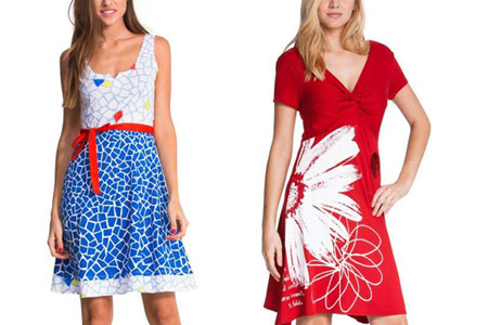 Top 10 Desigual Dresses For Spring
