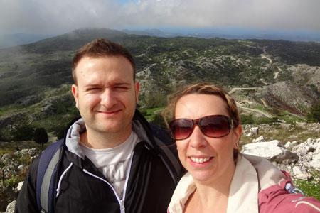 At the summit - Exploring Mount Pantokrator