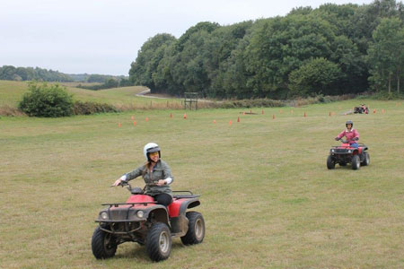 Quad Biking, Kent
