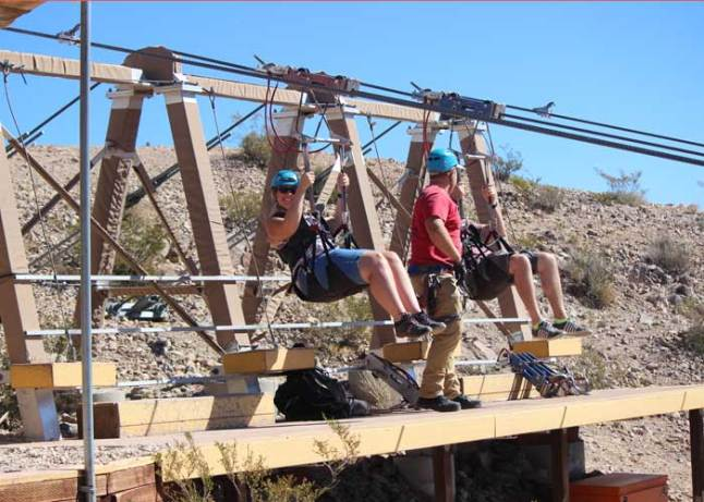 Zip Lining in Las Vegas