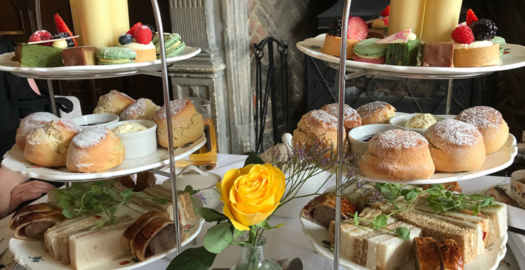Eastwell Manor Afternoon Tea