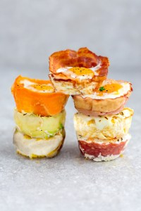 Low Carb Baked Egg Cups