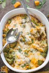 Low Carb Broccoli Cheese Casserole
