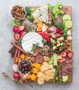 Low Carb Cheese Board