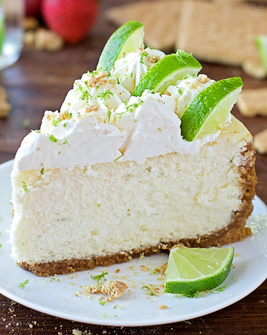 Image result for key lime cheesecake