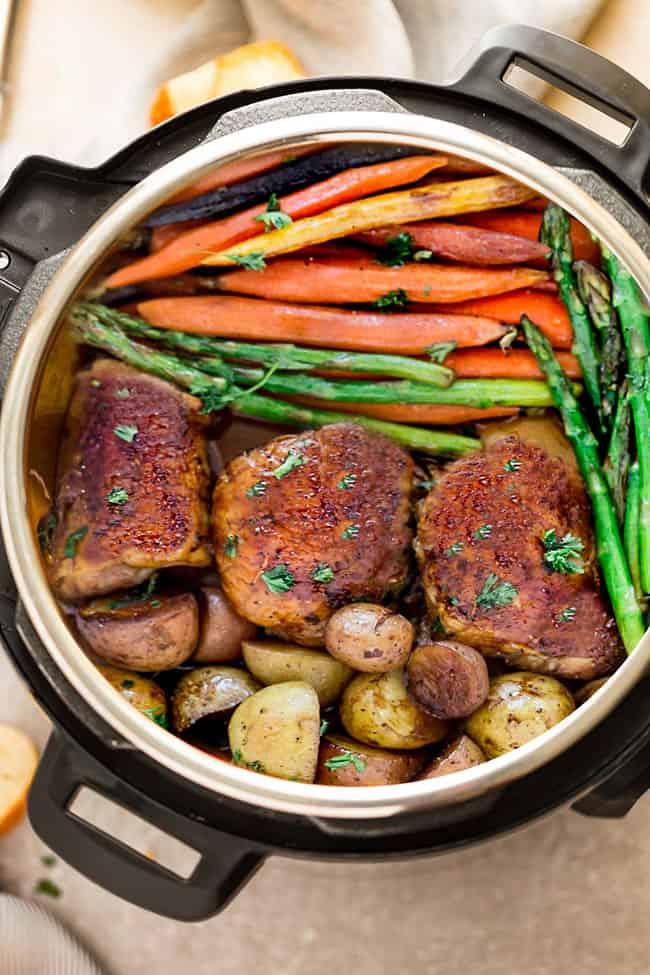Instant Pot Balsamic Chicken Recipe   Easy Instant Pot ...