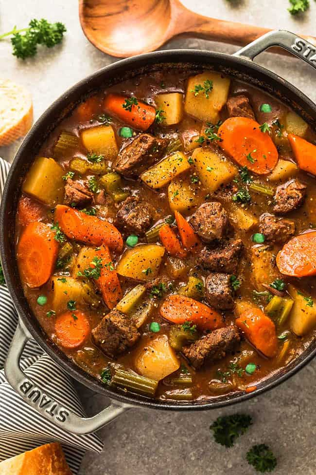 Irish Beef Stew - with Keto Options - Instant Pot Recipe ...