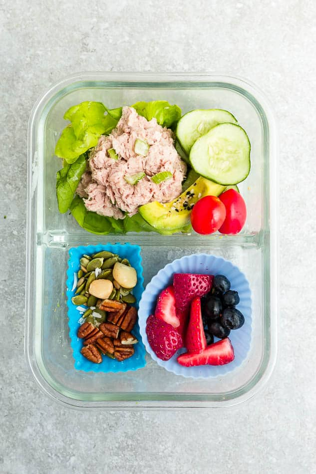 easy low carb lunch ideas for work or