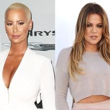 Amber Rose et Khloe Kardashian :  la guerre est déclarée
