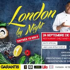 Vivons London by Night à Bassam ce 24 Septembre