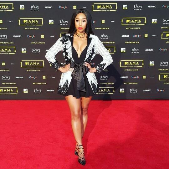 La présentatrice sud africaine Minnie Dlamini