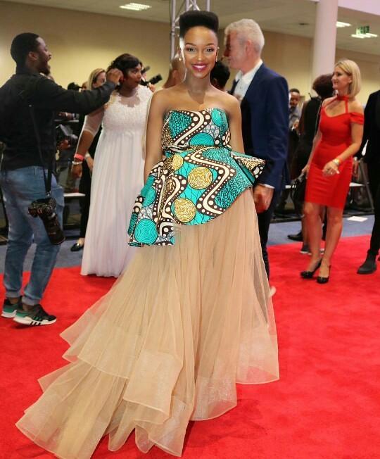 La chanteuse sud africaine Nandi Madida