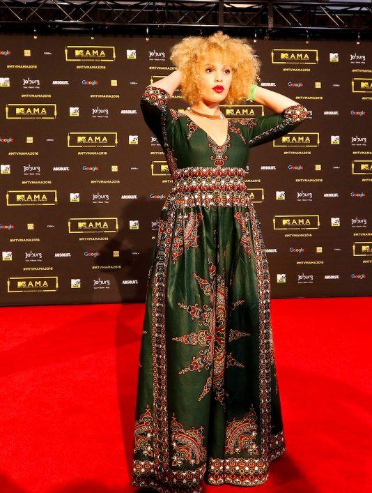 La chanteuse sud africaine Patty Monroe