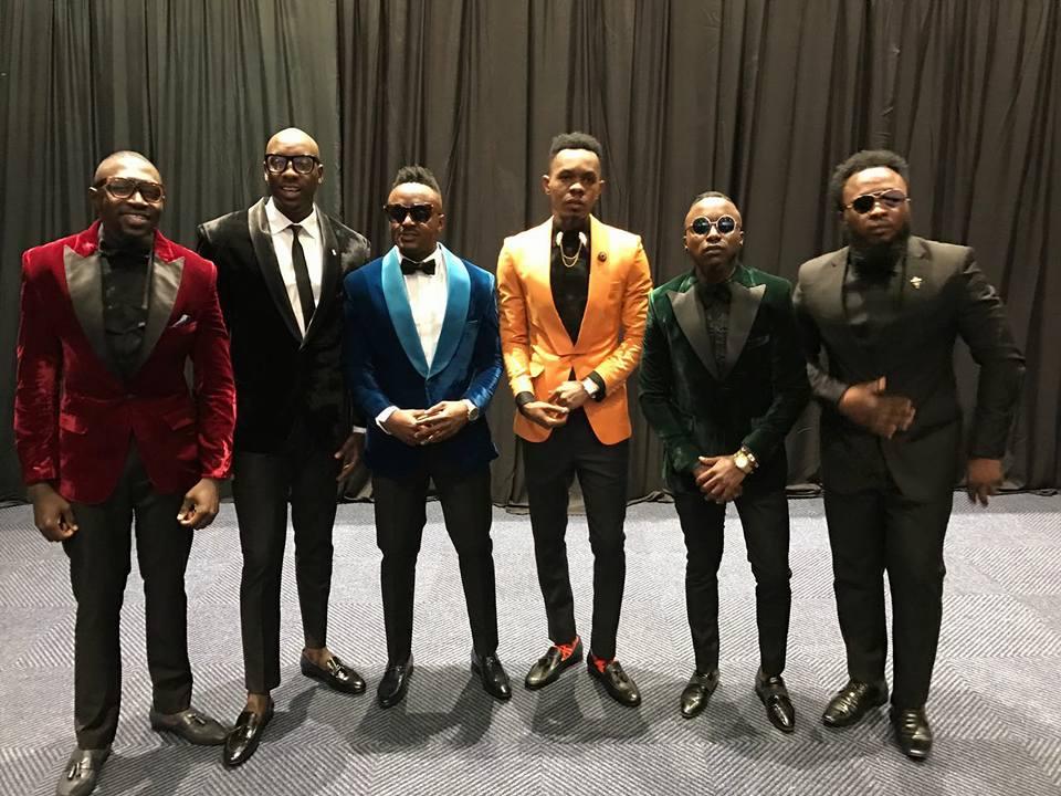 Les chanteurs kenyans de Sauti Sol et Patoranking