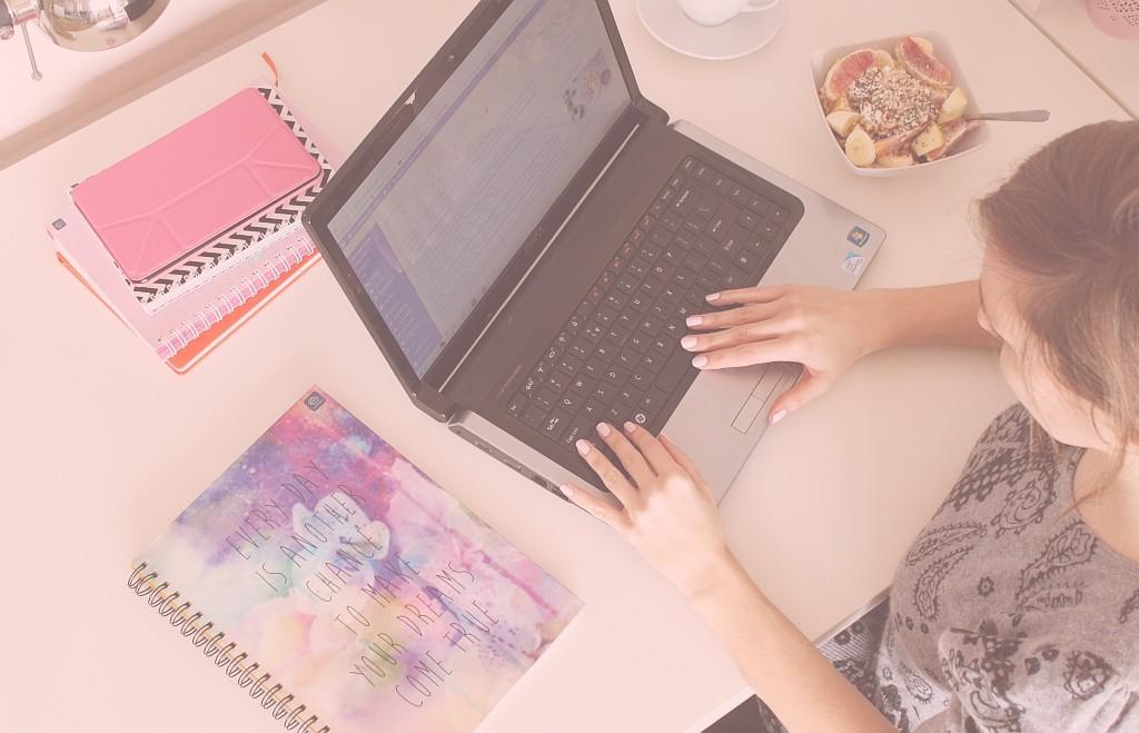 skupić się na blogach