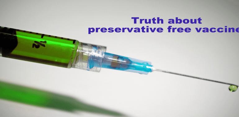Preservative free medicine