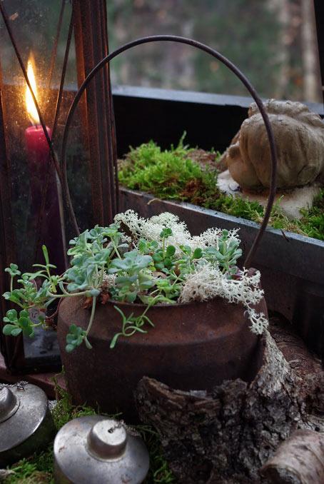 декорирование дача свеча