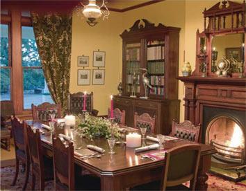 интерьер столовой классический стиль