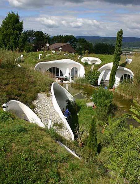 гибкий земляной дом Швейцария