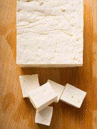 Сырой тофу из сои