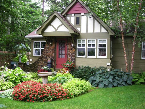 Красивый дизайн двора