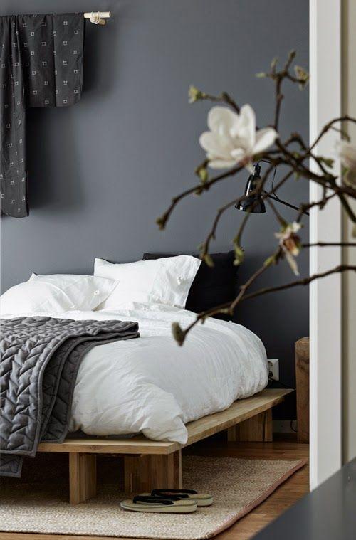 Дизайн интерьера японской спальни