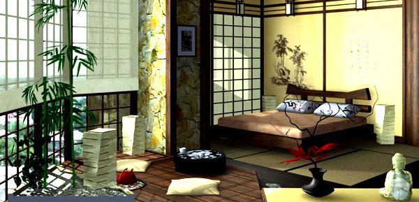 интерьер в японском стиле 10