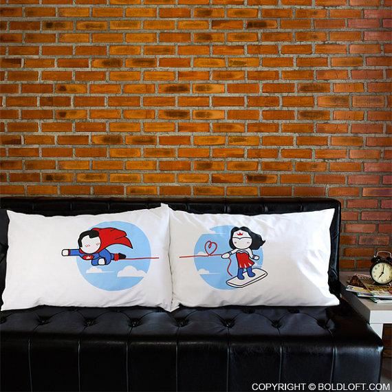 Superman pillowcases