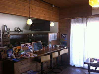 上越吉川のcafeわんこ亭、店内がかわいい