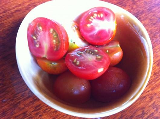 楓龍璃(ふたり)のミニトマト