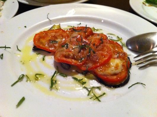 【上越】Pacco(パッコ)のナスとトマトの重ね焼き