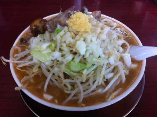 【柏崎】がっつり食堂ドカメン「子豚ラーメン」(680円)