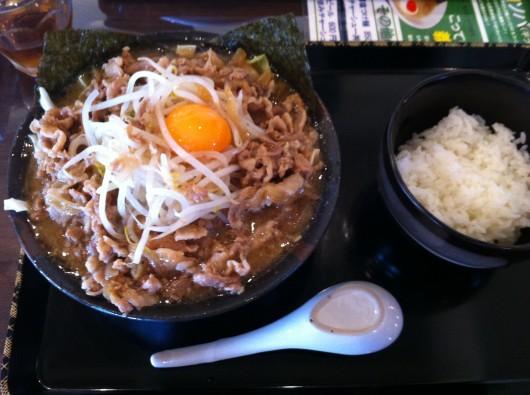 【新井】義次の肉そば