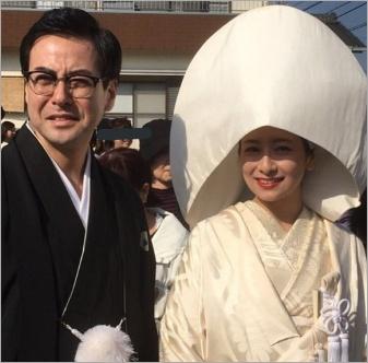 大塚千弘の結婚写真