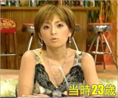 浜崎あゆみ 顔の変化 20代