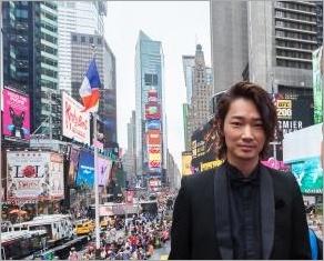 ニューヨークに初めて訪れた綾野剛