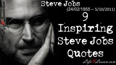 9 Inspiring Steve Jobs Quotes