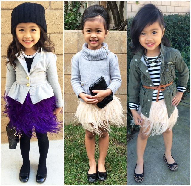 Sydne-Style-A-to-Z-Trend-Guide-Kids-little-girl-fashion-how-to-dress-your-child-in-style-beanies-turtleneck-feather-skirt-ballet-flats-winter-outfit-inspiration-army-jacket-stripes