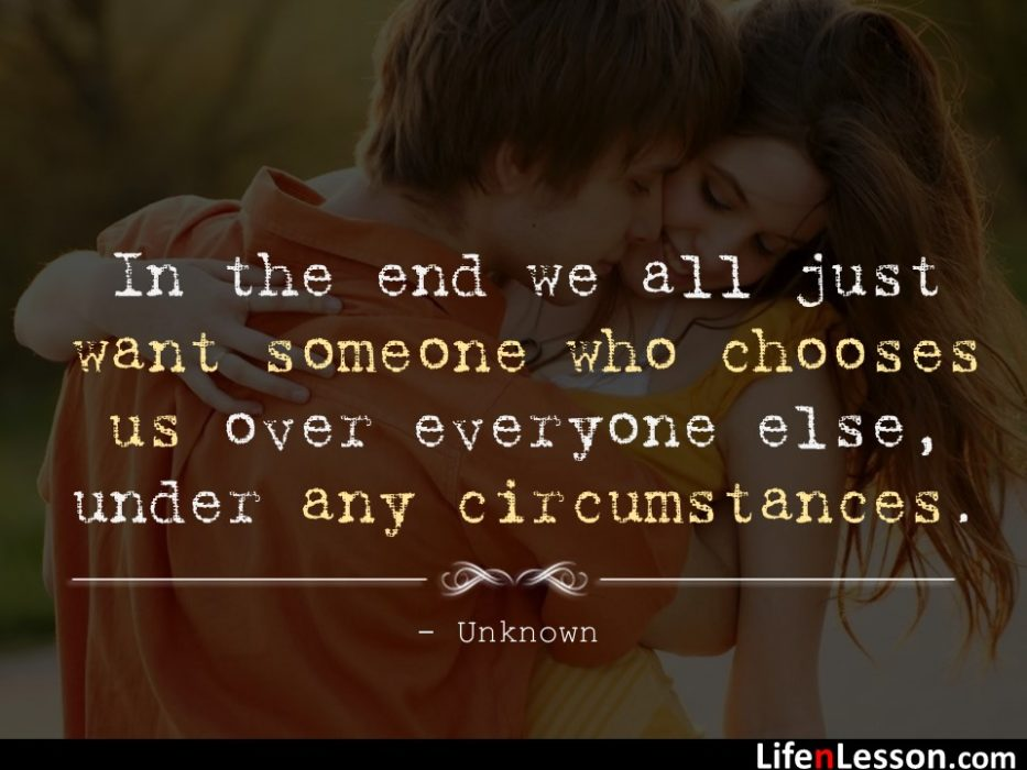 Love and Life Quote by Unkown